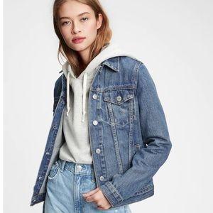 ✨HP✨Gap Icon Denim Jacket